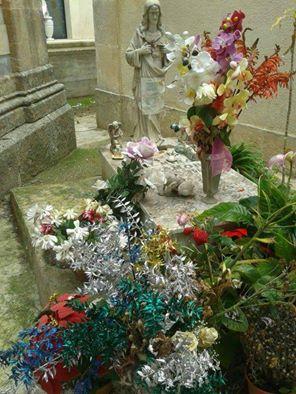 tomba della neonata PALMINA CHIARAMONTE presso il cimitero di Palma