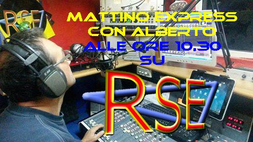 MATTINO EXPRESS con ALBERTO