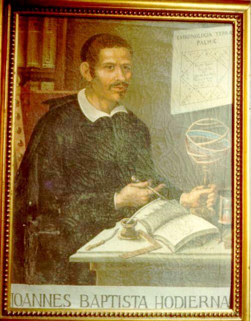 Quadro di G.B. Hodierna