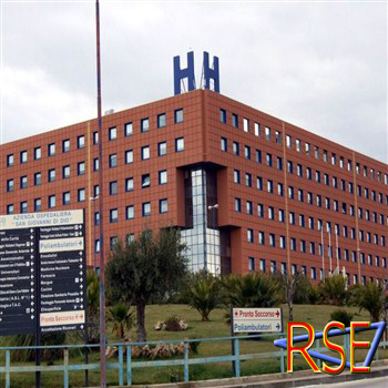 L'ospedale di Agrigento