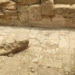 Nuovi ritrovamenti alla Valle dei Templi: affiora un pavimento nell'area del Teatro ellenistico