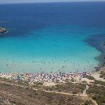 Crollano massi a Lampedusa, vietato l'accesso alla spiaggia dei Conigli